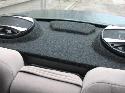 Акустическая полка в автомобиле: особенности установки